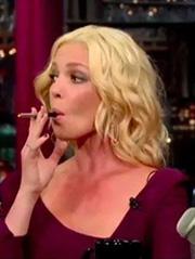 Katherine Heigl on the Letterman show