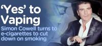 Simon Cowell Swaps His Cigarettes for E-Cigarettes