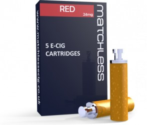 Matchless Aquamiser Cartridges - 5 RED Replacements in a carton