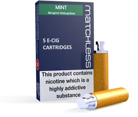 Matchless MINT aquamiser Cartridges - carton of 5