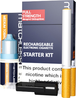 Premium E Cigs from Matchless.co.uk